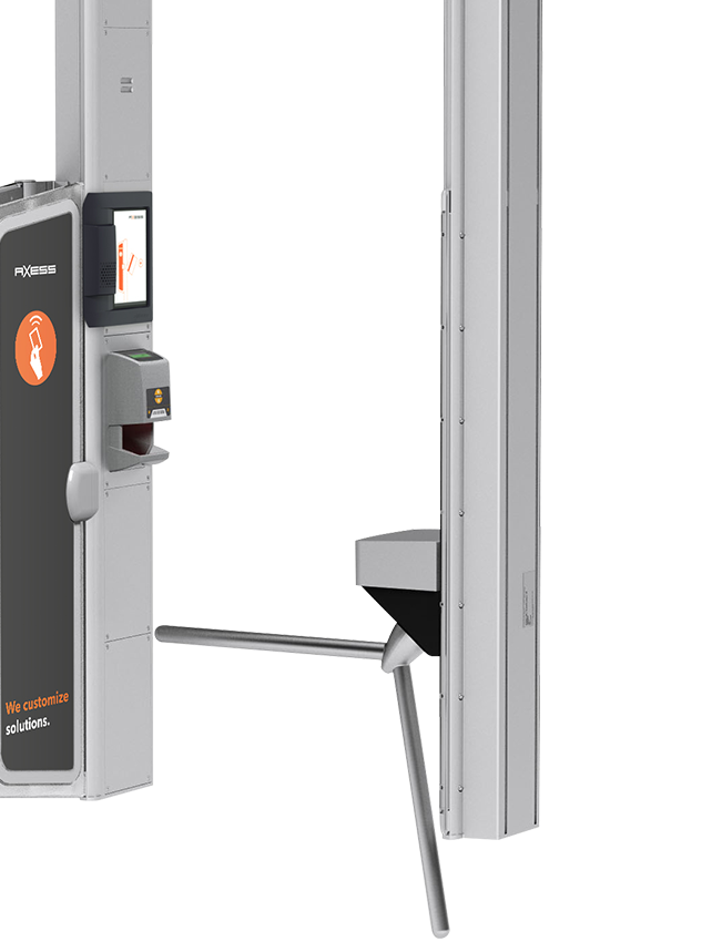 AX500 Smart Gate NG - gantry mounted Turnstile