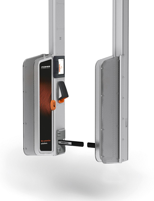 AX500 Smart Gate NG - gantry mounted Flap